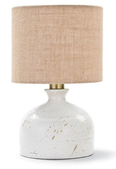 Marselle White Ceramic Table Lamp