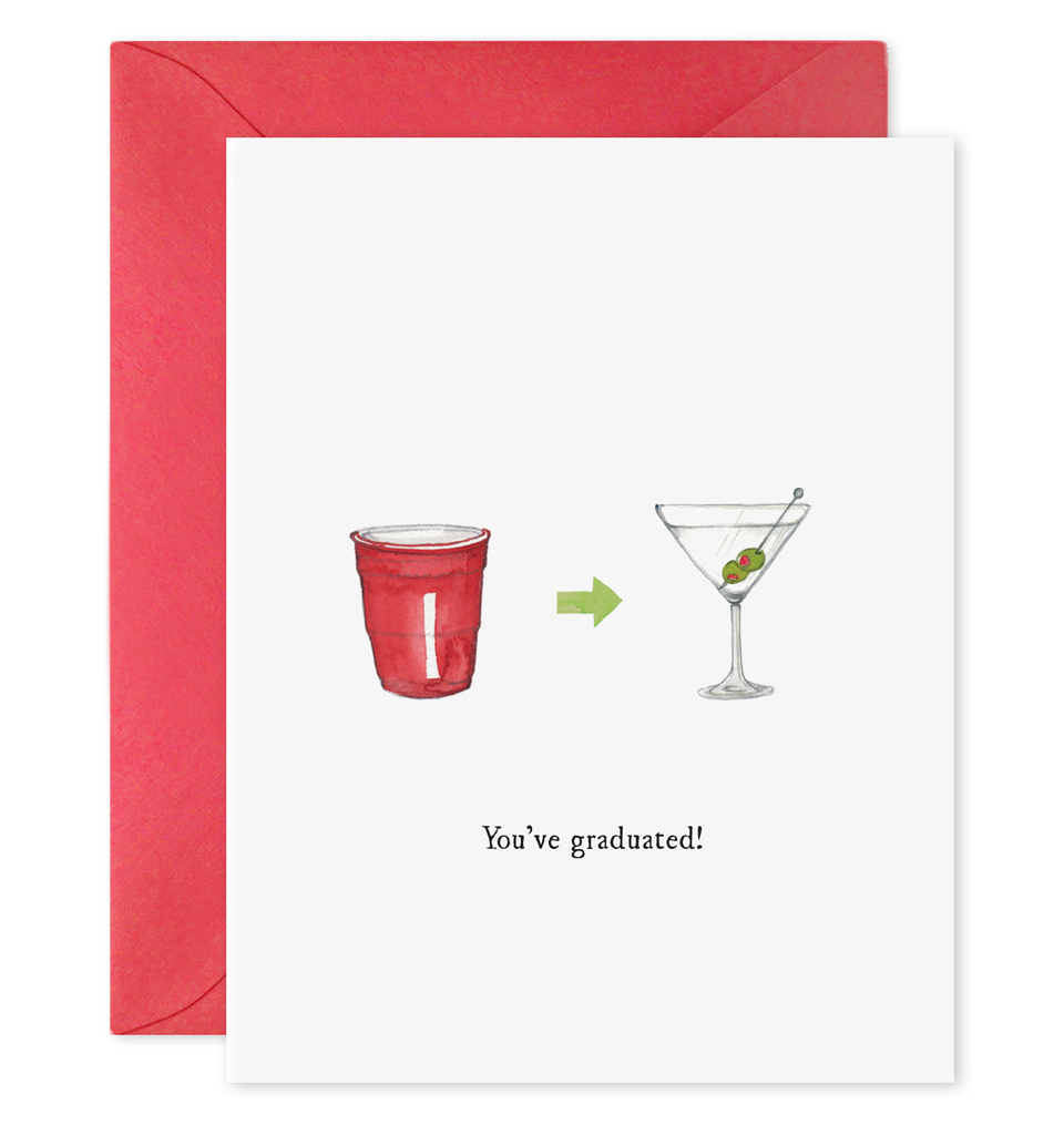 You've Graduated Greeting Card