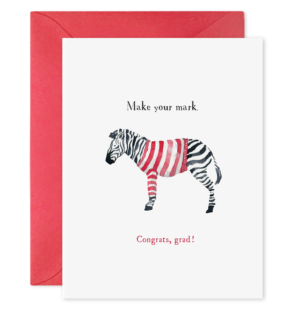 Make Your Mark Graduation Greeting Card