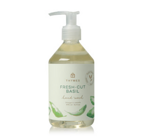 Fresh-Cut Basil Collection by Thymes - Candle, Fragrance Mist, Countertop Spray, Dish Liquid, Hand Washes, Cream & Lotion