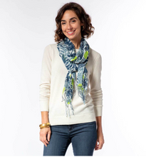 Load image into Gallery viewer, Juliette Ocean Featherweight Tassel Scarf