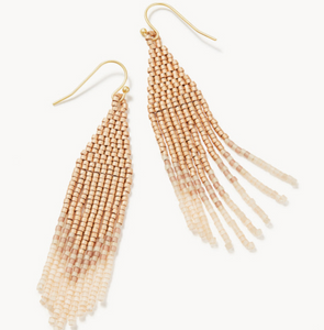 Bitty Bead Golden Blush Earrings