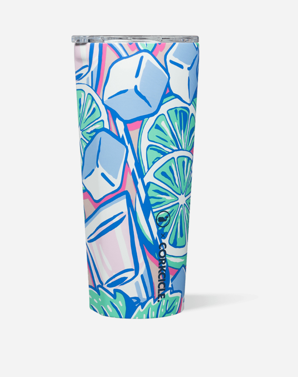 Corkcicle Vineyard Vines Mint Julep Tumbler & Stemless Cup