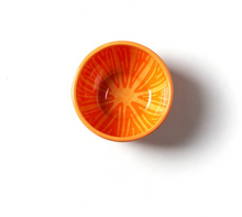 Load image into Gallery viewer, Orange Appetizer Bowl
