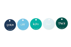 Born to Ride Teething Flashcards