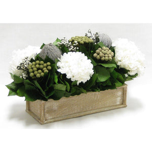 Natural, Gray & White Arrangement
