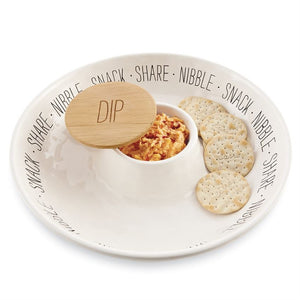 Snack Chip & Dip Set