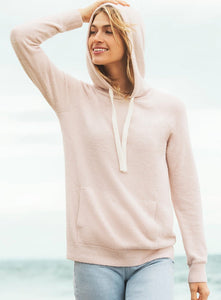 Barefoot Dreams Cozychic Lite Pink or Silver Pullover Hoodie