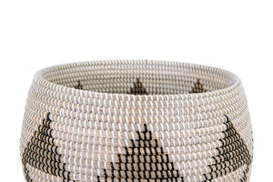 Natural Woven Seagrass Basket
