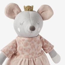 Load image into Gallery viewer, Princess Mouse Baby Knit Toy