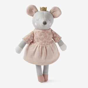 Princess Mouse Baby Knit Toy