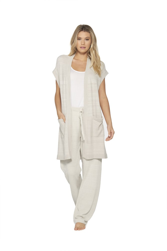 CozyChic Ultra Lite Women Sleeveless Long Cardigan from Barefoot Dreams