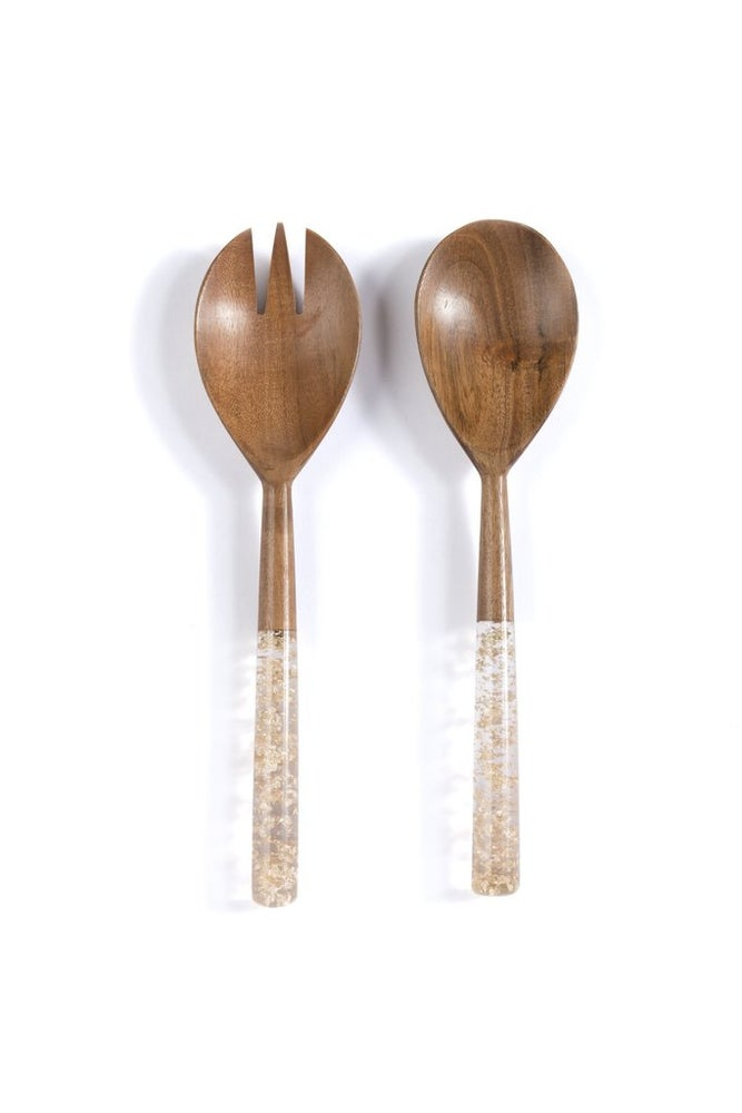 Goldie Salad Servers