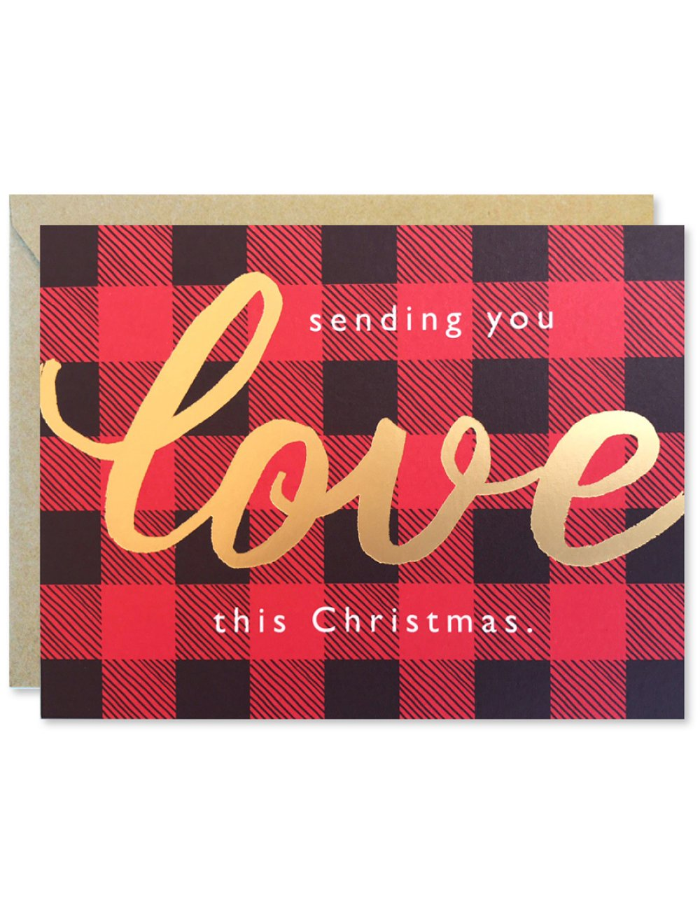 Christmas Love in Plaid Cards Boxed Set