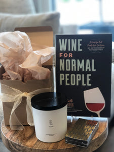 Wine For Normal People Gift Bundle