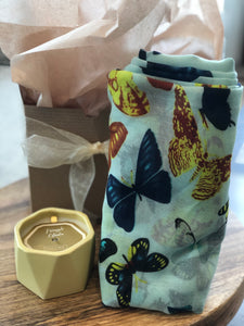 Yellow Butterfly Gift Package Bundle