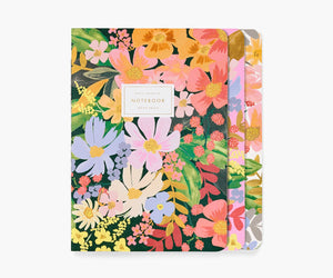 Marguerite Stitched Notebook Set of 3