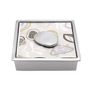 Kinetic Infinity Cocktail Napkin Box by Mariposa