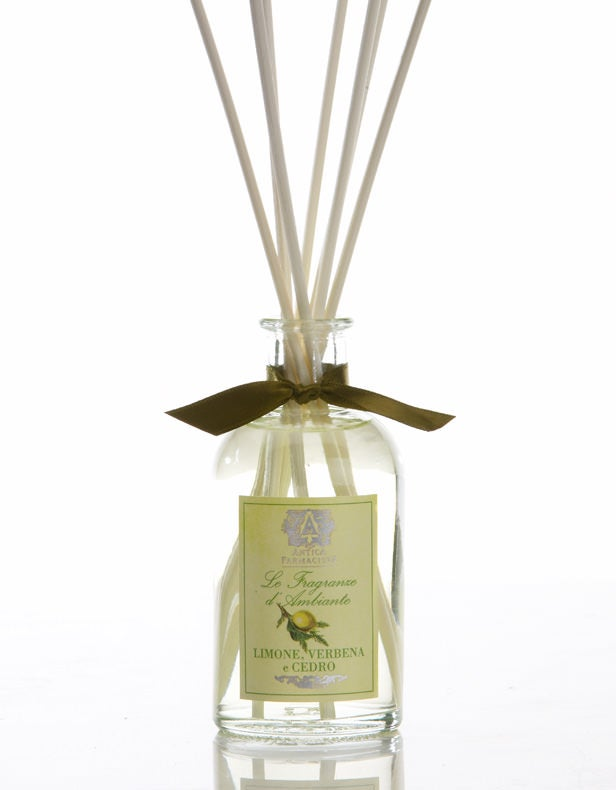 Lemon, Verbena & Cedar Fragrance Diffuser by Antica Farmacista - 2 sizes