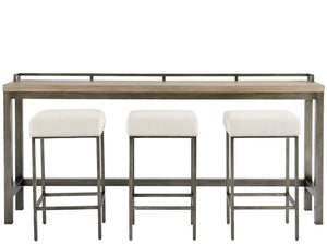 Mitchell Console Table with Three Stools