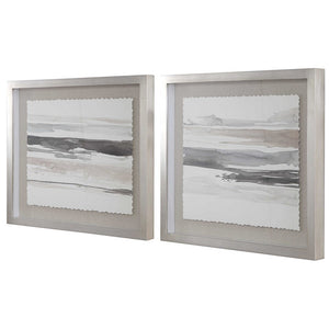 Neutral Landscape Framed Prints - Set of 2