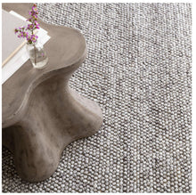 Load image into Gallery viewer, Niels Woven Wool/Viscose Rug - Grey or Ivory