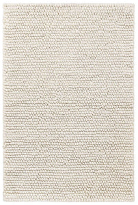 Niels Woven Wool/Viscose Rug - Grey or Ivory