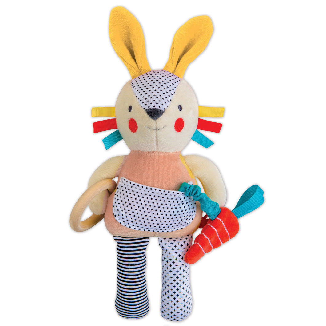Organic Busy Bunny Activity Toy