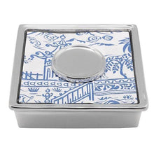 Load image into Gallery viewer, Pagoda Signature Cocktail Napkin Box by Mariposa