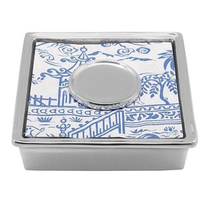 Pagoda Signature Cocktail Napkin Box by Mariposa