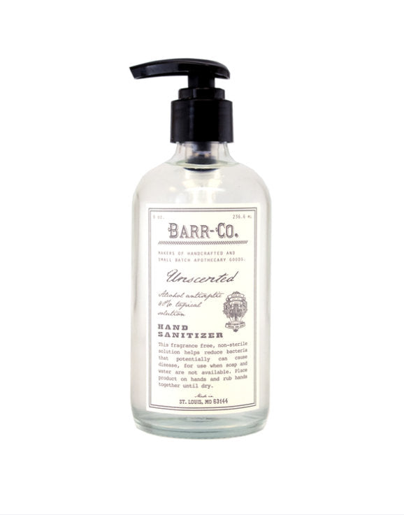 8oz Unscented Hand Sanitizer