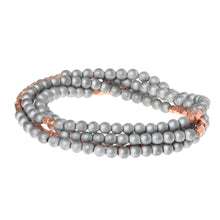 Load image into Gallery viewer, Hematite/Rose Gold - Stone of Balance Wrap