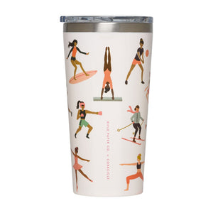 Rifle Paper Company Sports Girls Canteen & Tumbler by Corkcicle