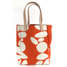 Load image into Gallery viewer, Orange Totem City Tote Bag & XL Travel Pouch