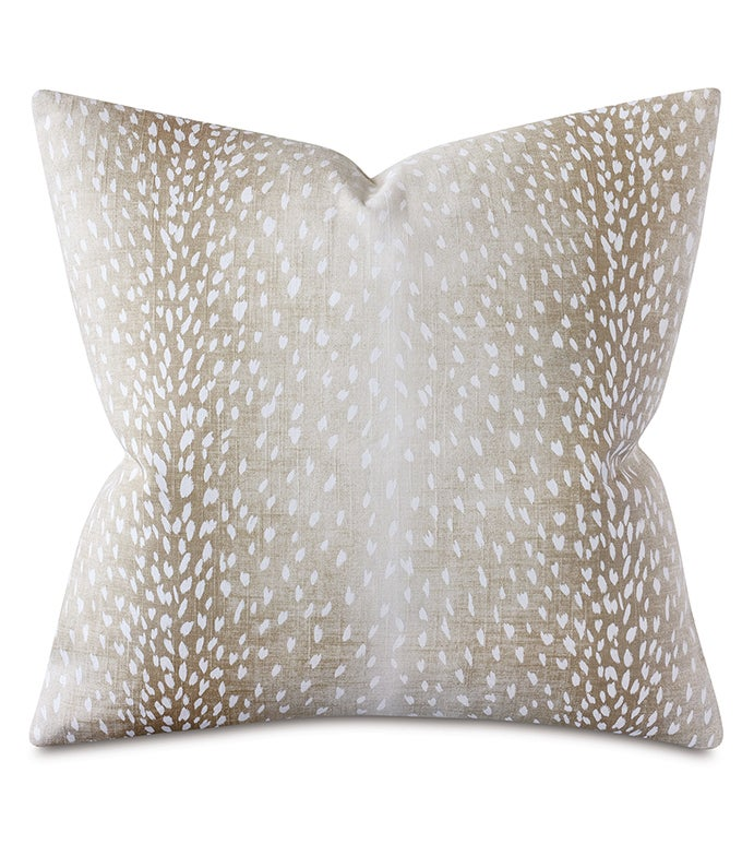 Wiley Animal Print Decorative Pillow