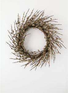 "24"" Pussywillow Wreath"
