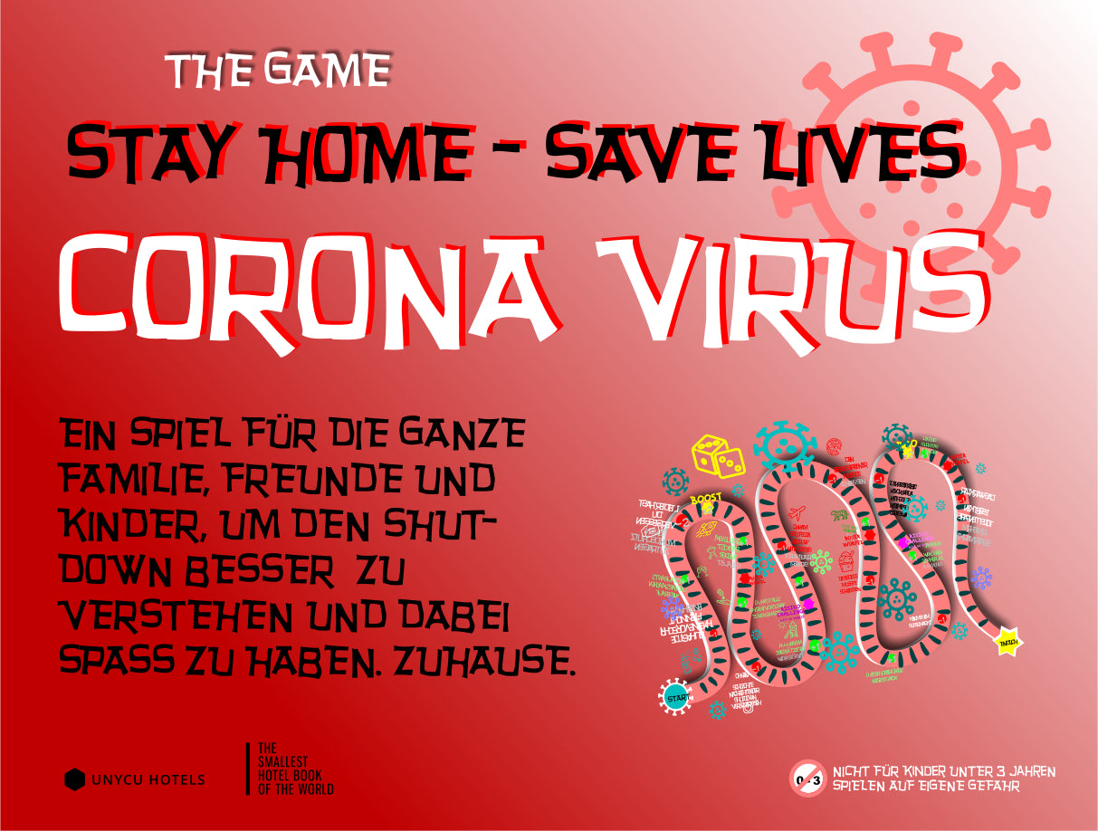 GAME - STAY HOME - SAVE LIVES - CORONA VIRUS