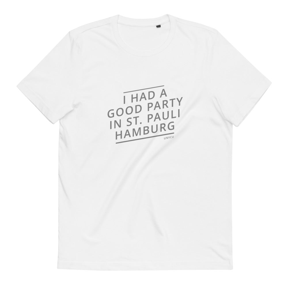 Hamburg Good Party unisex T-shirt made from organic cotton