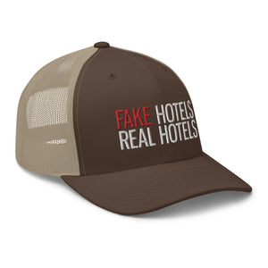 FAKE HOTELS - REAL HOTELS Cap