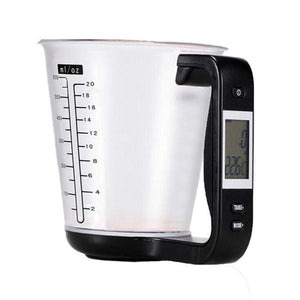 LCD Display All in One Measuring Cup DelicateMe Black