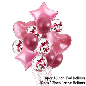 Balloons Stands DelicateMe 14pcs balloons 6