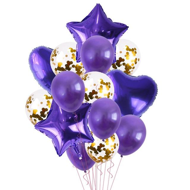 Balloons Stands DelicateMe 14pcs balloons
