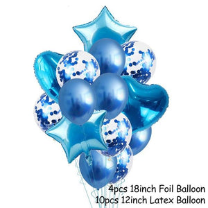 Balloons Stands DelicateMe 14pcs balloons 5
