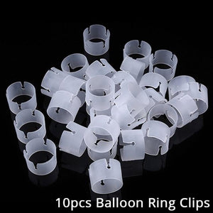 Balloons Stands DelicateMe 10pcs clips