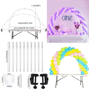 Balloons Stands DelicateMe 1set balloon arch