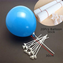 Load image into Gallery viewer, Balloons Stands DelicateMe 20pcs balloon stick 2