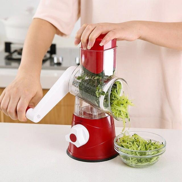 Manual Speedy Slicer DelicateMe China Red