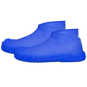 Waterproof Shoe Cover Silicone DelicateMe Blue M