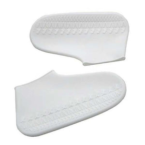 Waterproof Shoe Cover Silicone DelicateMe White S