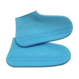 Waterproof Shoe Cover Silicone DelicateMe Light blue M